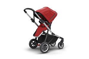 Carrinho de Bebê Gêmeos Sleek Energy Red - Thule