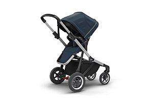 Carrinho de Bebê Gêmeos Sleek Navy Blue - Thule