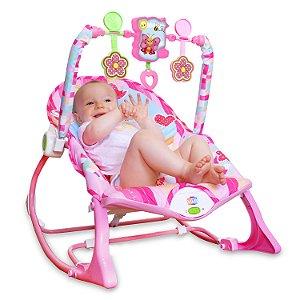Cadeira de Balanço Floresta Rosa - Pura Diversão