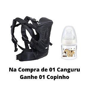 Canguru Supreme Comfort 4 em 1 Preto - NUK
