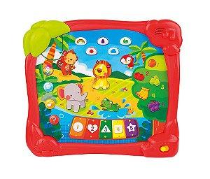Brinquedo Tablet Aprendendo na Selva - Winfun