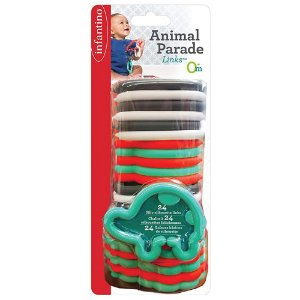 Brinquedo Interativo de Encaixe Animais 24 Peças - Infantino