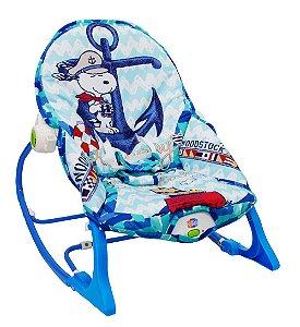 Cadeira de Balanço Snoopy Azul - Pura Diversão