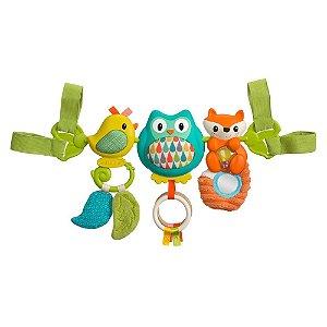 Brinquedo Interativo Barra de Atividades Musical Zoo - Infantino