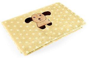 Manta Amarelo Cachorro - Baby Pil