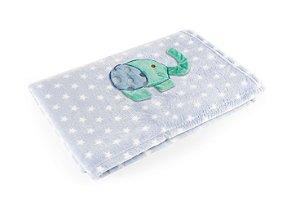 Manta Azul Elefante - Baby Pil