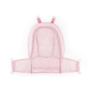 Rede para Banheiras Premium Rosa - Baby Pil