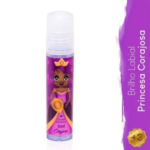 Gloss Infantil Princesa Corajosa - Magia de Princesa