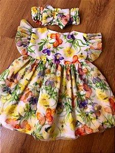 Vestido Baby Butterfly - Sweet Cotton