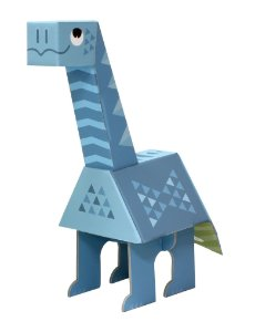 Brinquedo de Montar Dinossauro Apatossauro - Krooom