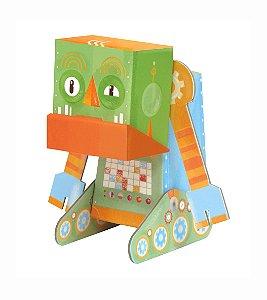 Robô de Montar Mal Humorado - Krooom