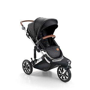 Carrinho de Bebê Jet 3 Rodas Preto - Litet