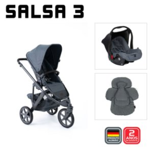Salsa 3 Mountain Duo com Seat Liner - ABC Design