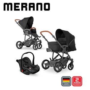 Carrinho de Bebê Merano 4 Trio Piano - ABC Design