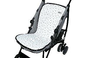 Capa para Carrinho de Bebê Suedine - D'Bella for Baby