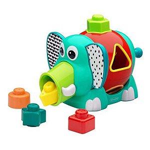 Brinquedo Interativo de Encaixe Elefante - Infantino