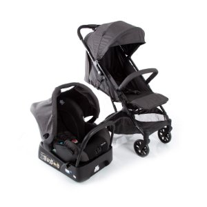 Carrinho Travel System Skill Trio Black Denim - Safety 1st