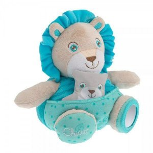 Pelúcia Papai Leão Soft Cuddles - Chicco