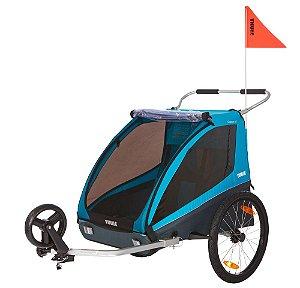Bike Trailer para 1 ou 2 Bebês Coaster - Thule