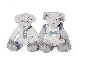 Ursa Hanna e Urso Ken - Modali Baby