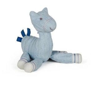 Cavalinho Trico Azul Pequeno - Modali Baby