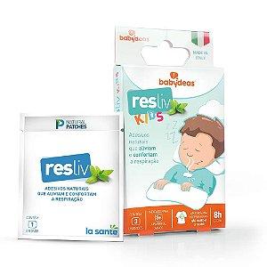 Adesivo para Alívio e Conforto Nasal Resliv 3 Unidades - Babydeas