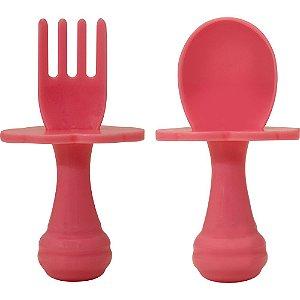 Kit de Talher com Escudo Rosa - Buba