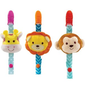 Prendedor de Chupeta Animal Fun - Buba
