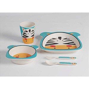 Conjunto de Alimentação Zebra Eco - Girotondo
