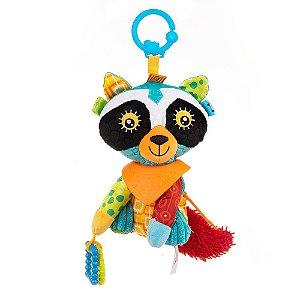Brinquedo Bandana Buddies Activity Animals Raccoon Ronnie - Balibazoo