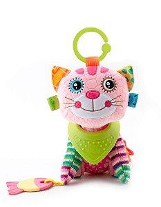 Brinquedo Bandana Buddies Activity Animals Cat Caia - Balibazoo
