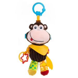 Brinquedo Bandana Buddies Activity Animals Monkey Molly - Balibazoo