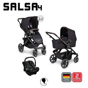 Carrinho de Bebê Travel System Salsa 4 Midnight Eco TRIO - ABC Design