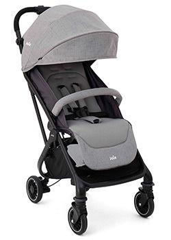 Carrinho de Bebê Tourist Cinza Gray Flannel - Joie