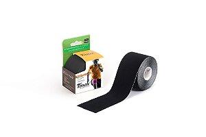 Fita Bandagem Kinesio Tape Preto - Tmax