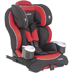 Cadeira Modi Preto e Vermelho - Kiddo
