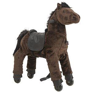 Montaria Cavalo Pequeno Marrom Uppi - Kiddo