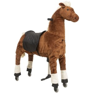Montaria Cavalo Grande Caramelo Uppi - Kiddo
