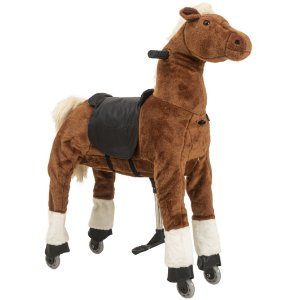 Montaria Cavalo Médio Caramelo Uppi - Kiddo