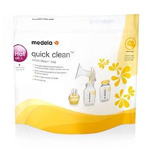 Sacos de Esterilização para Micro-ondas Quick Clean - Medela