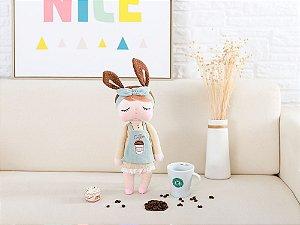 Boneca Angela Chocolate Coffee 33cm - Metoo