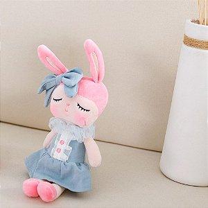 Boneca Mini Doll Angela Liz Azul  20cm - Metoo