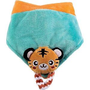 Bandana Plush com Mordedor Tigre - Buba