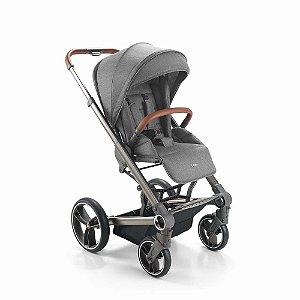 Carrinho de Bebê Rover Cinza - Litet