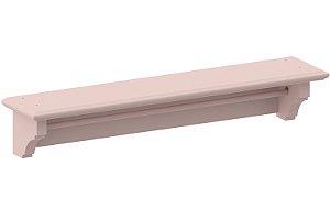 Prateleira Link Classic Rosa Old 110cm - Cia do Móvel