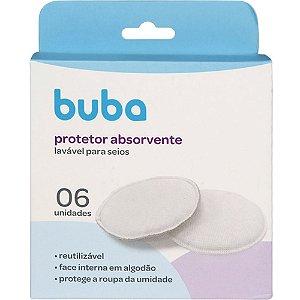 Kit Protetor Absorvente para Seios Laváveis 6 Unidades- Buba