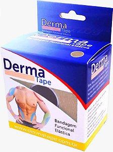 Bandagem Funcional Elastica 5x500cm Bege - Derma Tape