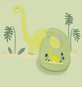 Babador de Silicone Bichos Dino - KaBaby