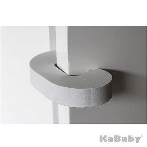 Kit 2 Protetores de Dedos para Porta Branco - Kababy
