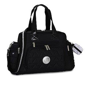 Bolsa Térmica Everyday Nylon Glow Preta - Masterbag Baby